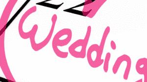 Meine Hochzeit. Mein Tag. Das Wort Wedding ist auf einem Kalender markiert.