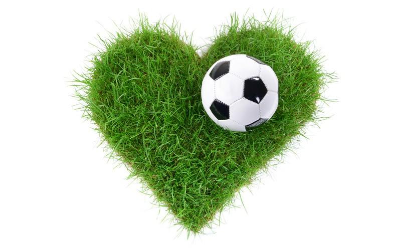 Meine Hochzeit. Mein Tag. Fußballherz