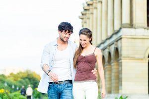 Die Generalprobe für Braut und Bräutigam